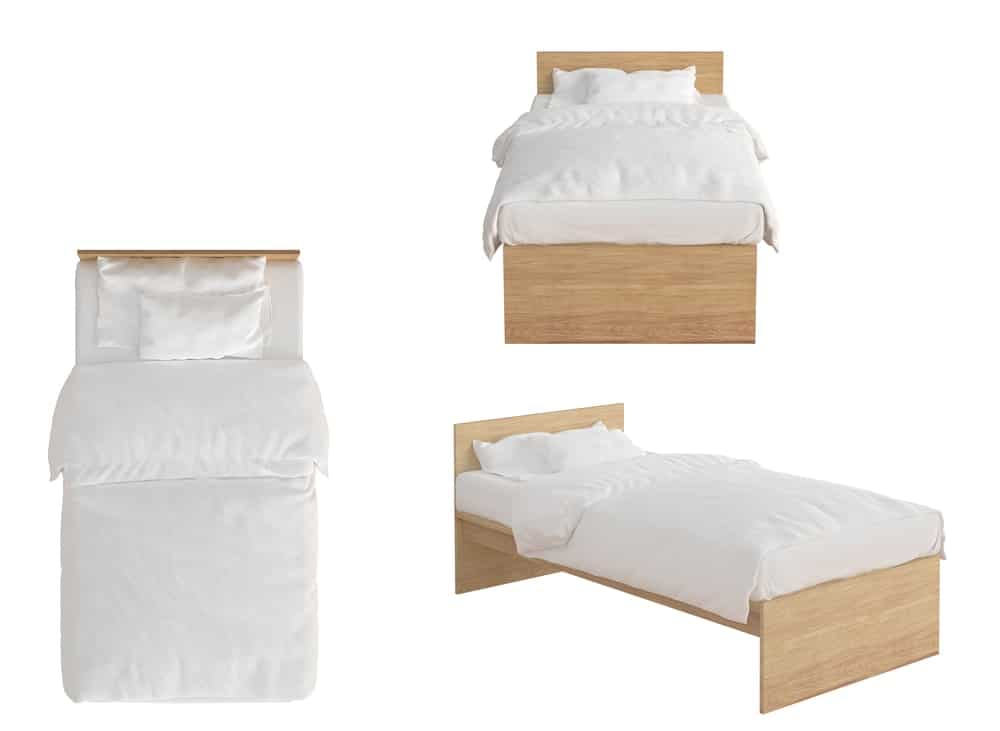 single size bed